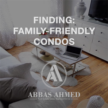 finding family friendly condos